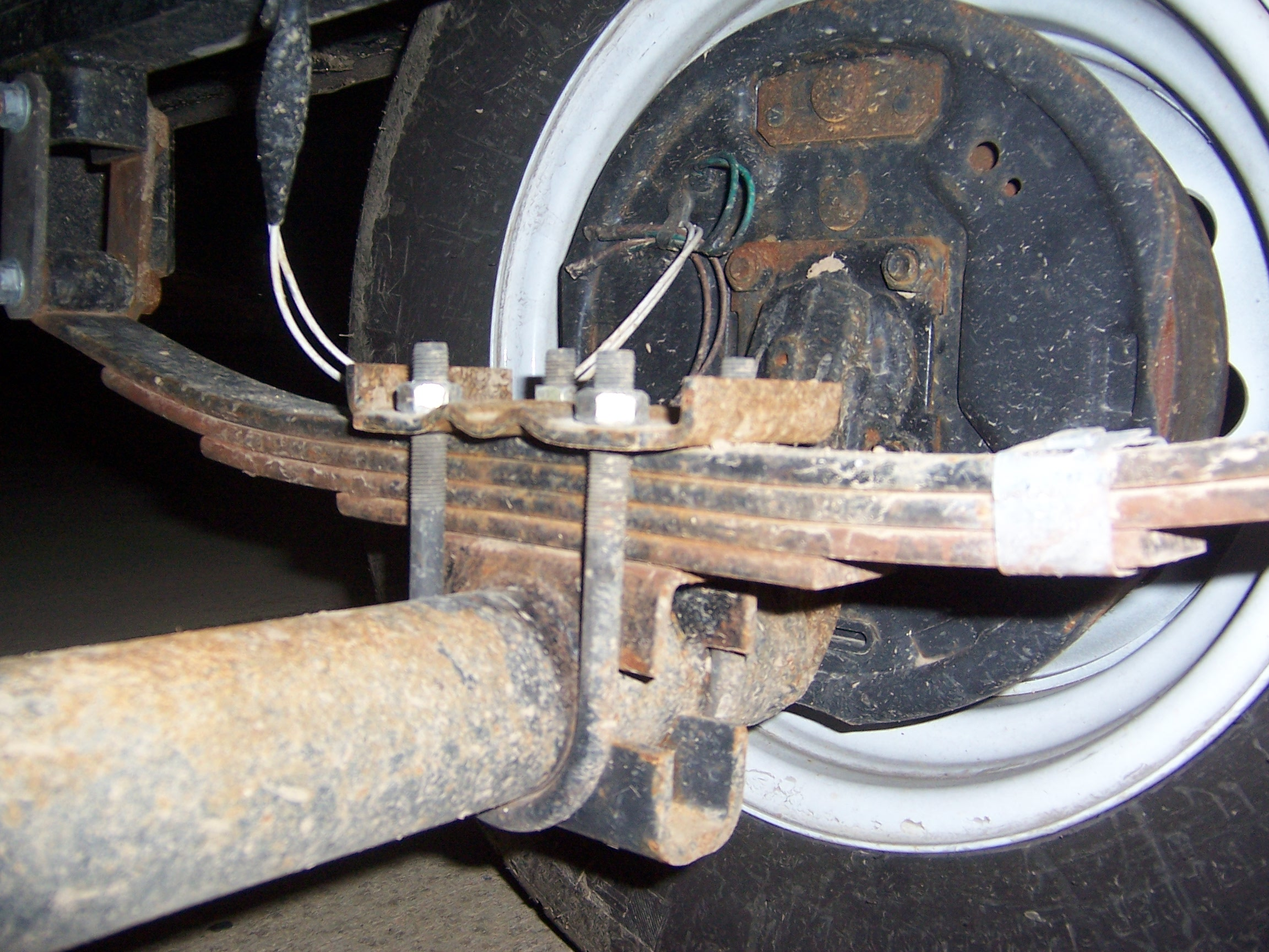 Tractor Supply Axle Trailer : Axle flip modifications kz rv sportsmen classic