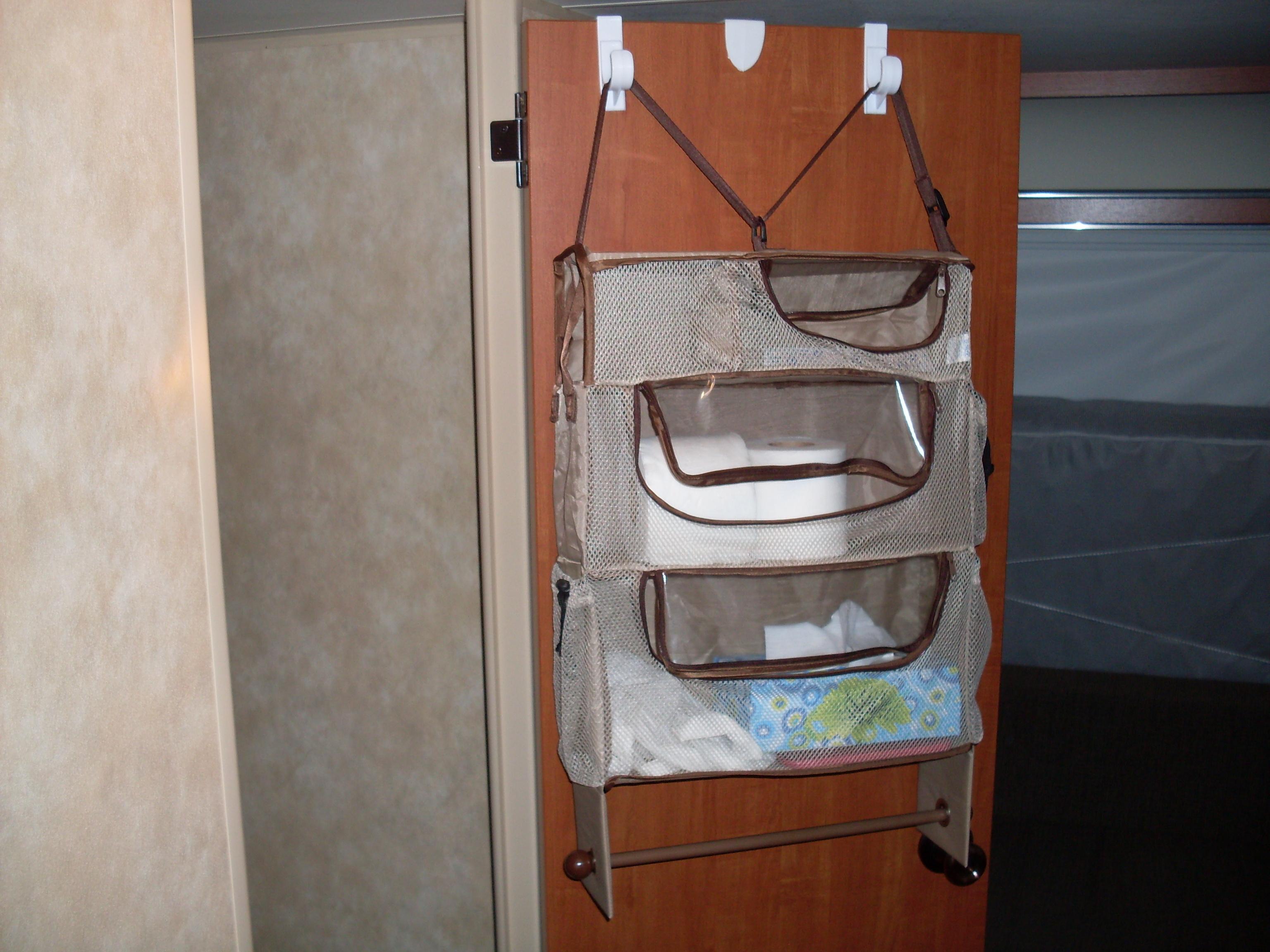 Over the bathroom door | Modifications | KZ RV Sportsmen Classic